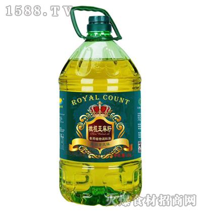 皇家食品橄榄亚麻籽食用植物调和油5L