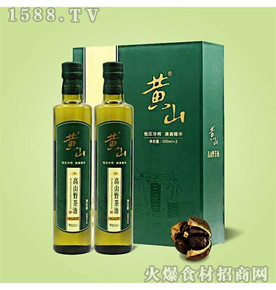 黄山高山野茶油礼盒装1L