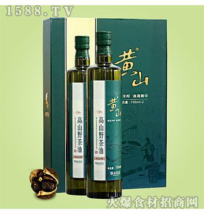 黄山高山野茶油礼盒装1.5L