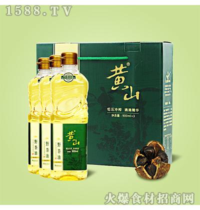 黄山野茶油礼盒装2.7L