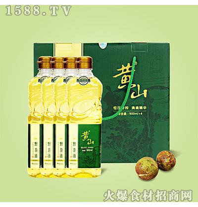 黄山野茶油礼盒装3.6L