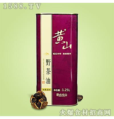 黄山野茶油1.25L
