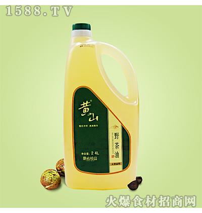 黄山野茶油2.4L