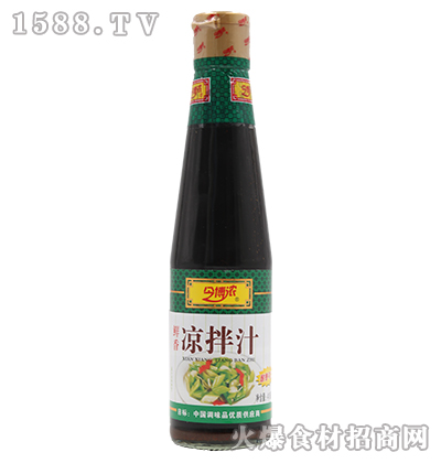 今博浓鲜香凉拌汁410ml