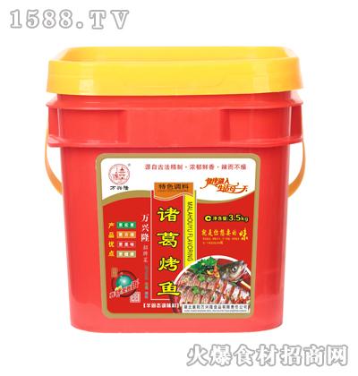 万兴隆诸葛烤鱼(特色调料)3.5kg