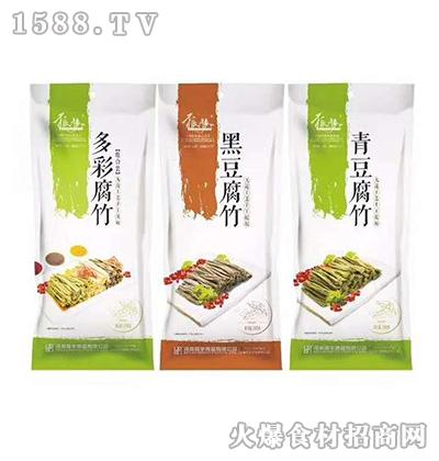鲜多彩、黑豆、青豆腐竹208g
