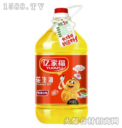 亿家福-花生油5L