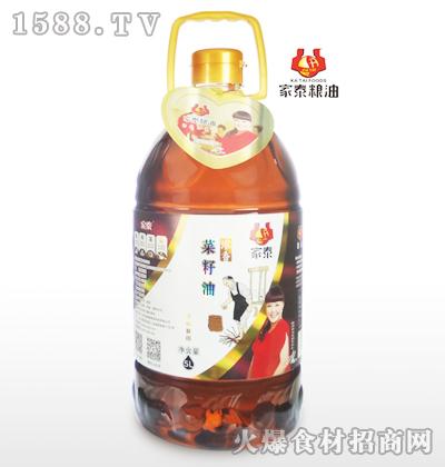 家泰浓香菜籽油5L