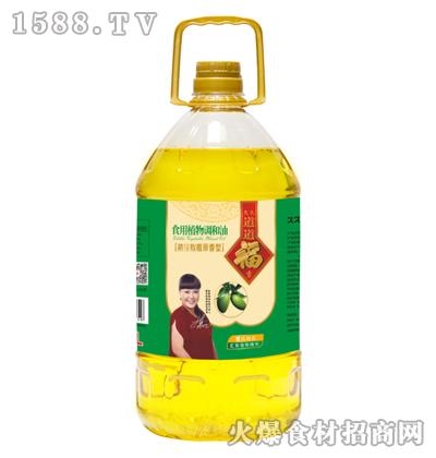 久久道道福吉初榨橄榄原香型食用植物调和油5L