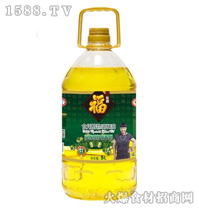 福东鼎压榨茶籽原香型食用植物调和油5L