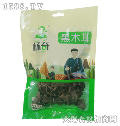 杨奇黑木耳50克