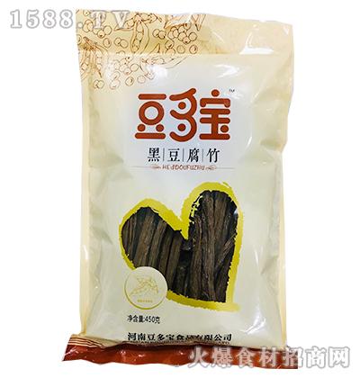 豆多宝黑豆腐竹450g