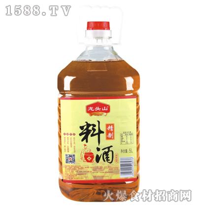 龙头山精制料酒5L