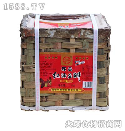 恒坤郫县红油豆瓣箱装