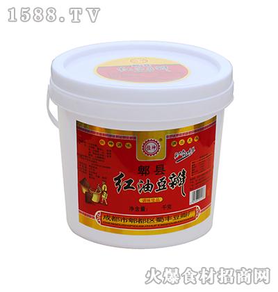 恒坤郫县红油豆瓣桶装