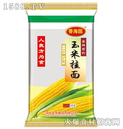 香海园玉米挂面500克