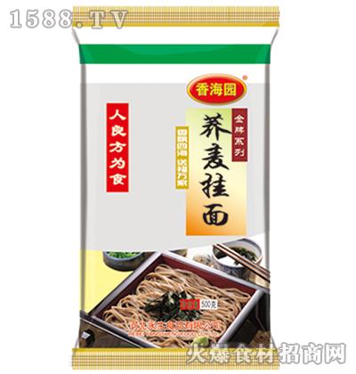 香海园荞麦挂面500克