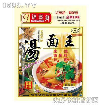 锦萱鲜汤面王(肉味型)200克