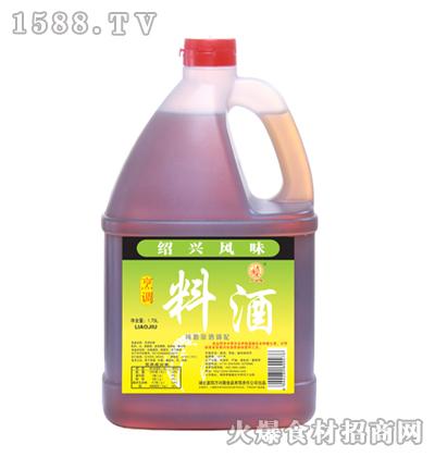 万兴隆绍兴烹调料酒1.75L
