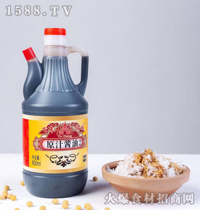 百年掖城原汁酱油800ml