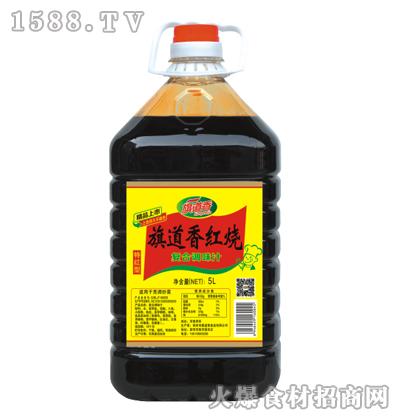 旗道香红烧复合调味汁(特红型)5L