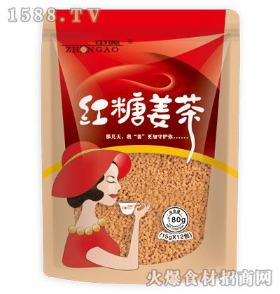 中奥红糖姜茶180克