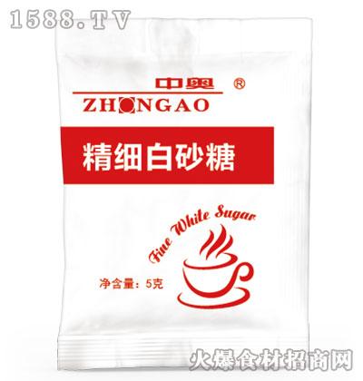 中奥精细白砂糖5克
