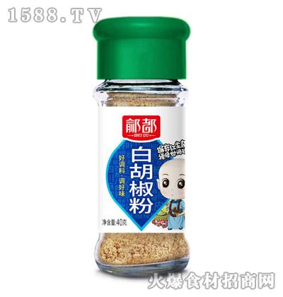 �g都白胡椒粉40克