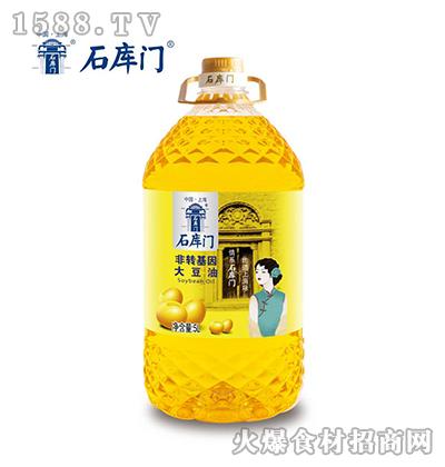 非转基因大豆油5L-石库门