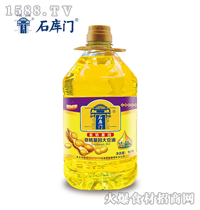 石库门非转基因大豆油10L