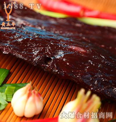 黄三爷-农家柴火烟熏腊黄牛肉