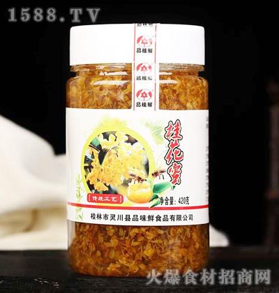 品味鲜食品桂花蜜420克