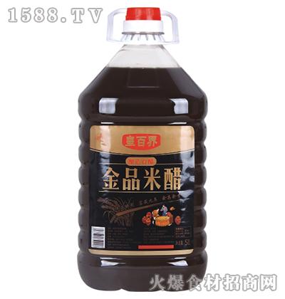 皇百界金品米醋5L