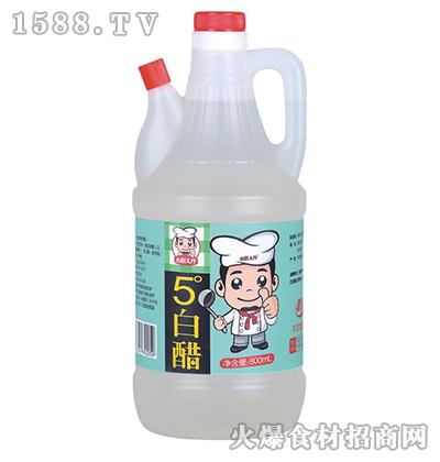 皇百界5度白醋800ml