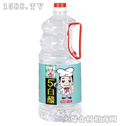 小厨大作5度白醋1.9L