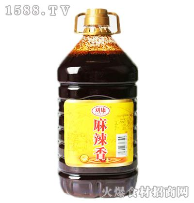 刘康麻辣香调料油5升