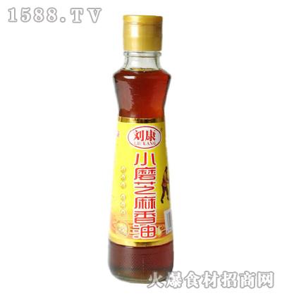 刘康小磨芝麻香油320毫升