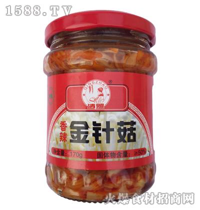 清照香辣金针菇170g