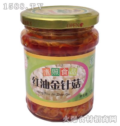 清照红油金针菇170g