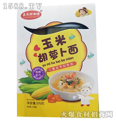吴氏种田佬玉米胡萝卜面270g