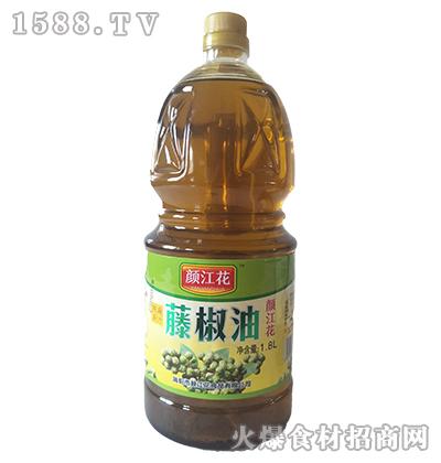 颜江花藤椒油1.8L