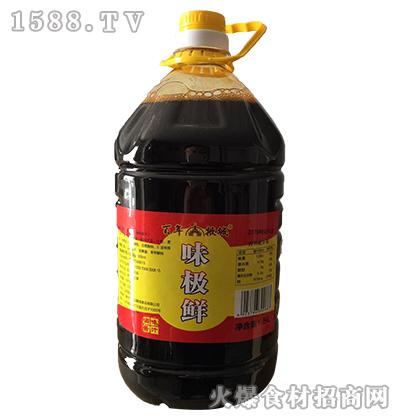 百年掖城味极鲜酱油5L
