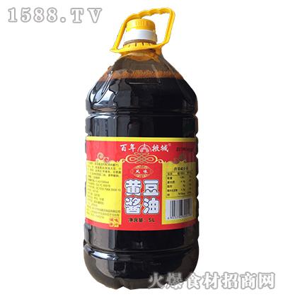 百年掖城黄豆酱油5L