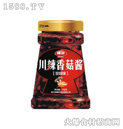 精珍川辣香菇酱(豆豉味)228g