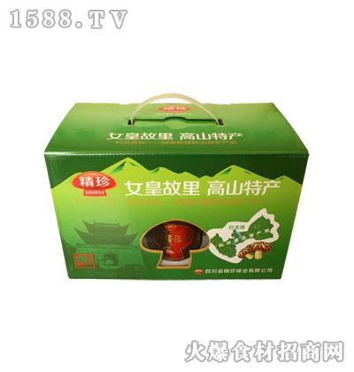 精珍高山特产香菇礼盒装