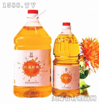 老农禾红花籽油1.8L、5L