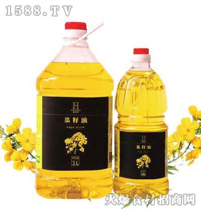 老农禾菜籽油1.8L、5L
