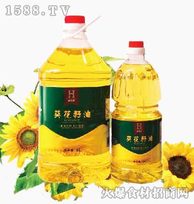 老农禾葵花籽油1.8L、5L