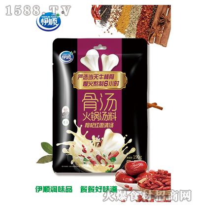 伊顺骨汤火锅汤料(枸杞红枣)190g