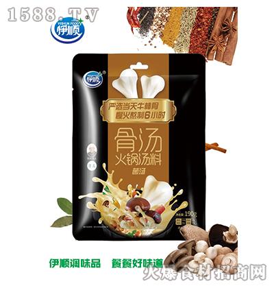 伊顺骨汤火锅汤料(菌汤)190g